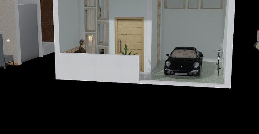 rumah 10*6 Interior Design Render