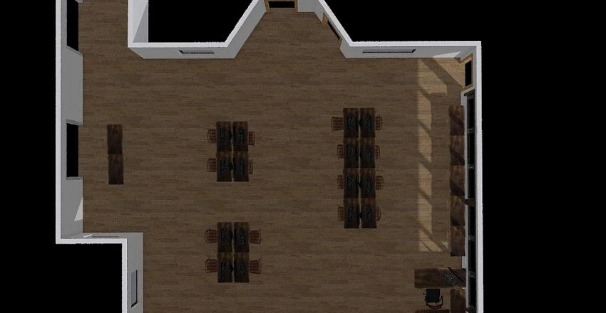 Mr Larsens room Interior Design Render