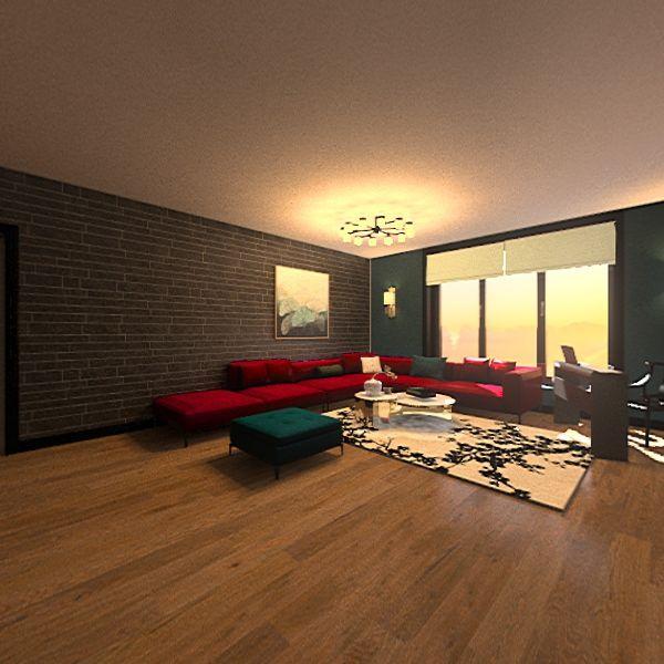 ДЗ план кв панорама Interior Design Render