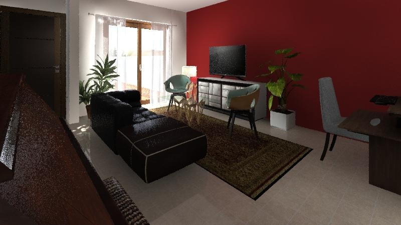 Duplex v1 Interior Design Render