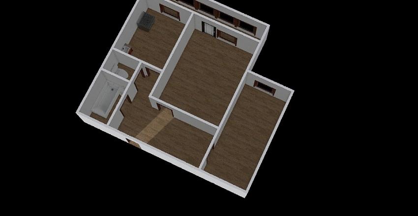 2-комн_0349 Interior Design Render