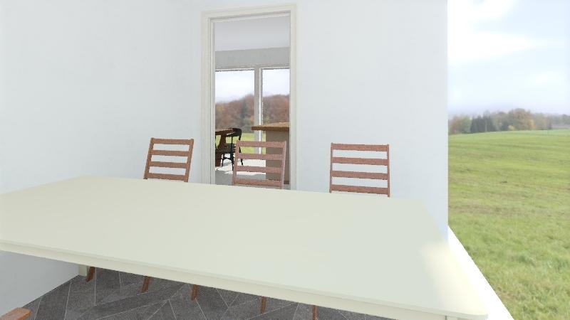 106 m2 + terasa Interior Design Render