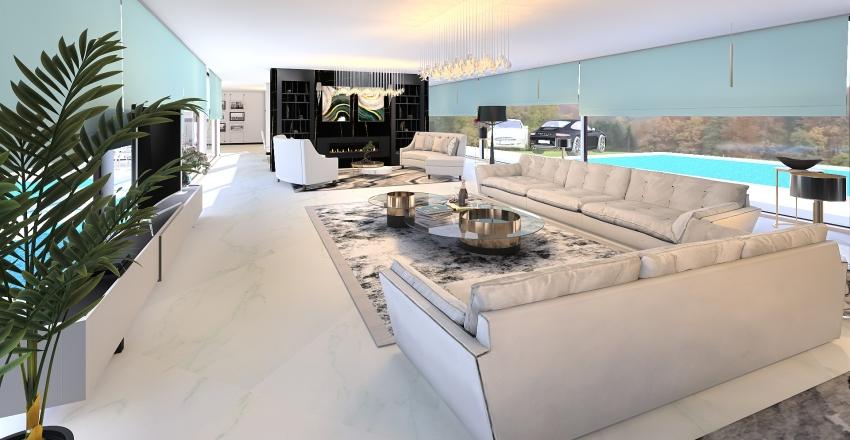 tega londonderry white Interior Design Render