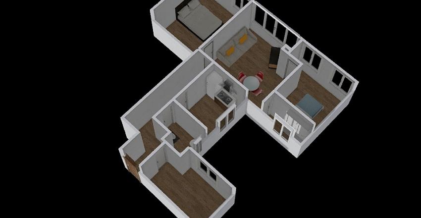 Pedro Aleixandre 60 Interior Design Render