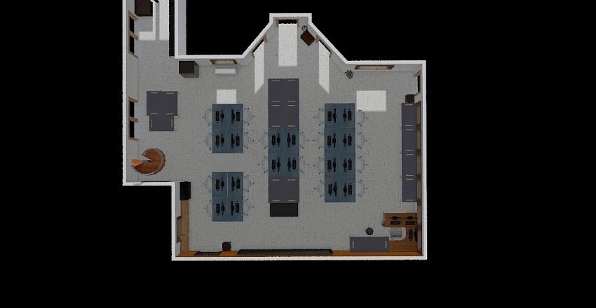 Room Floor Plan Interior Design Render