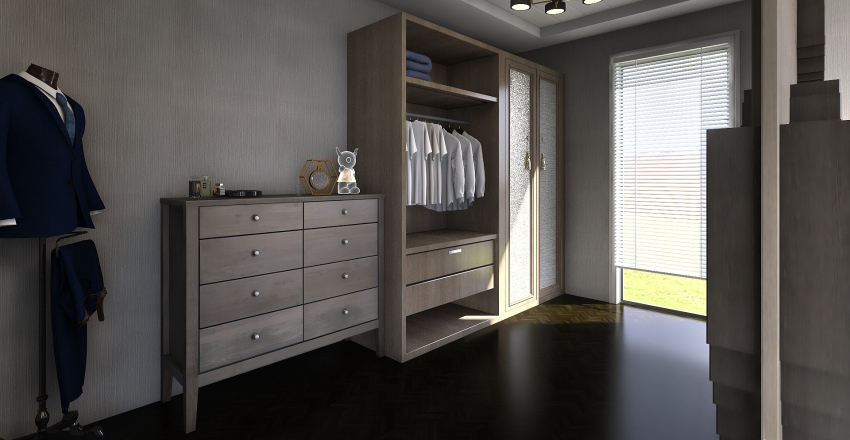 room rak Interior Design Render