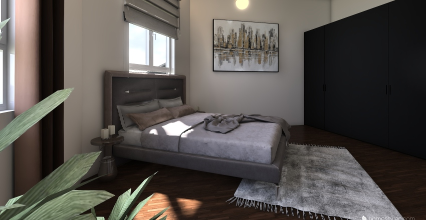 salonac Interior Design Render