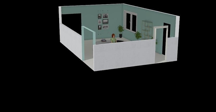 холл б 3 Interior Design Render