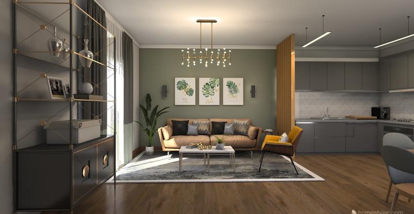 ةمةء Interior Design Render