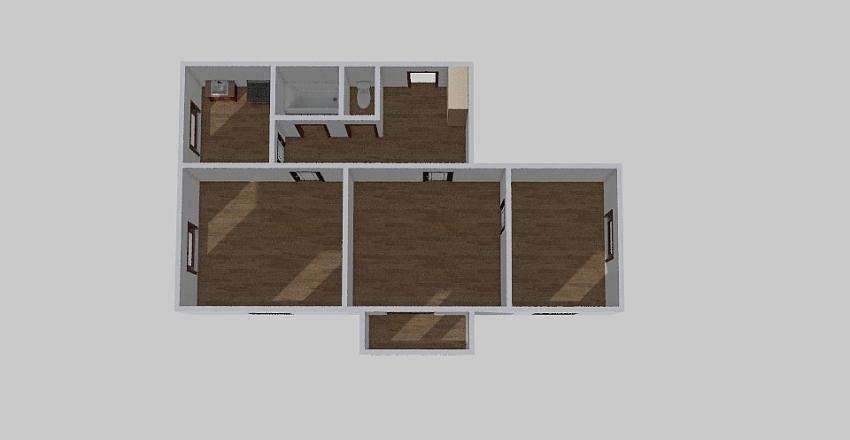 3-комн_0347 Interior Design Render