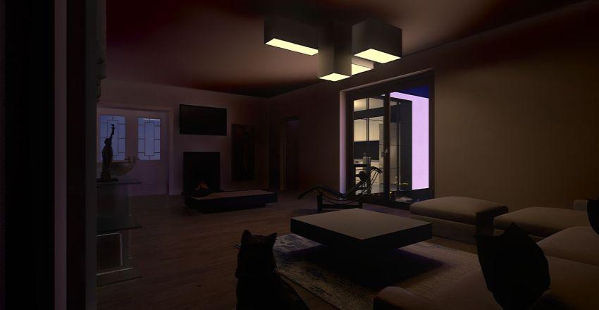 1P Simone Piovaticci Interior Design Render