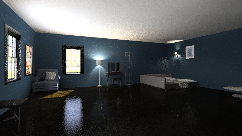 marvin's room Interior Design Render