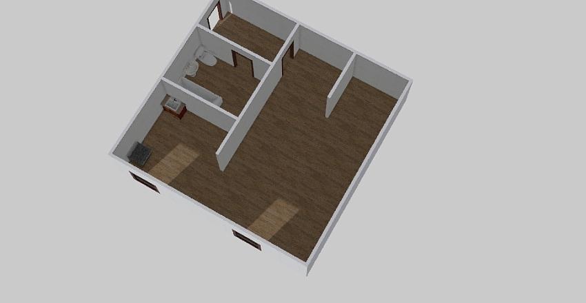 1-комн_0378 Interior Design Render