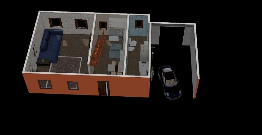 piazza risorgimento 6 Interior Design Render