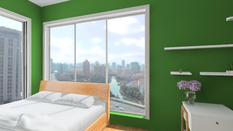 michelle's room Interior Design Render