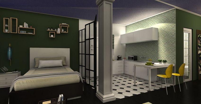 PARTICOLARE VERDE  Interior Design Render