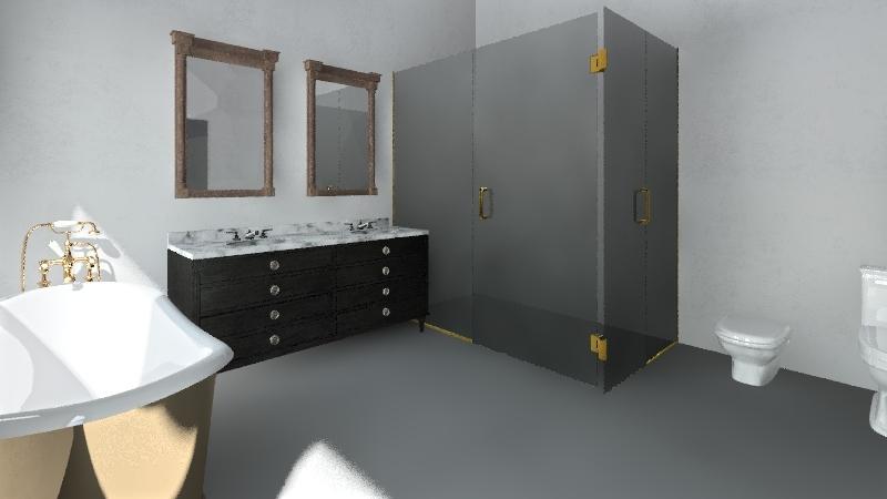 Barndominium 40x60 Interior Design Render