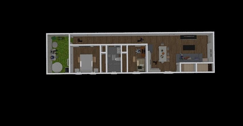 Baracoa 3er Plano Interior Design Render