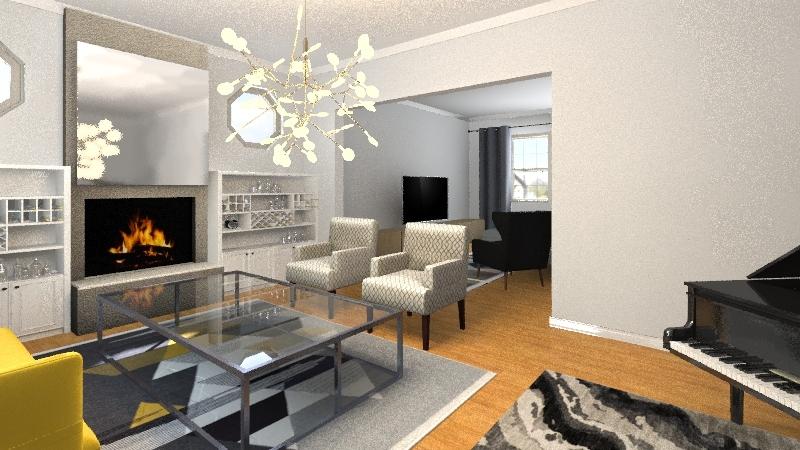 EdgewoodColonial1922 Interior Design Render