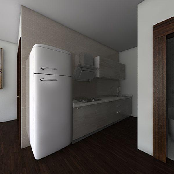 tiny ny apartment Interior Design Render