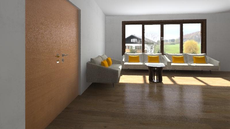 expo Interior Design Render