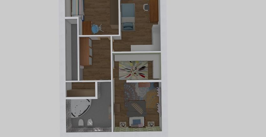 trif1piano Interior Design Render