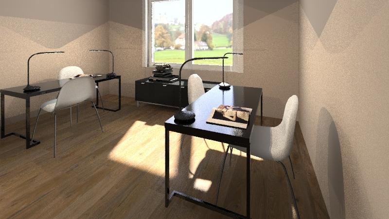Casa Abrigo Interior Design Render