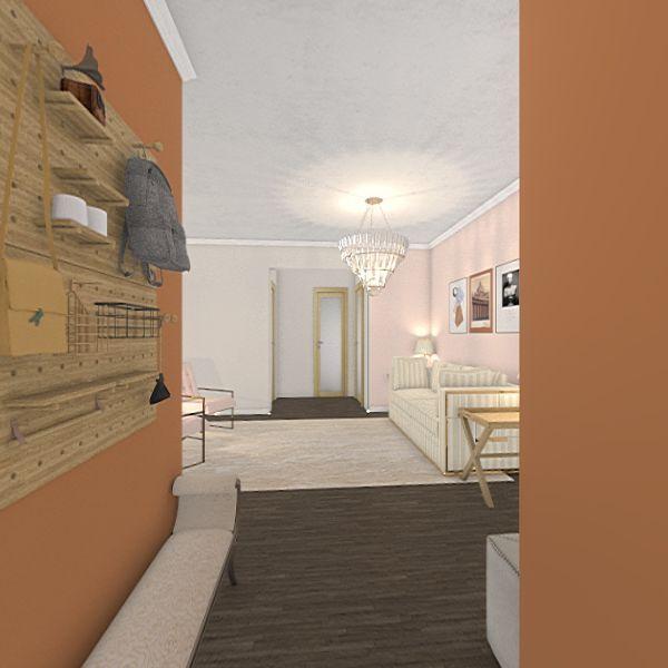 girly dream house Interior Design Render