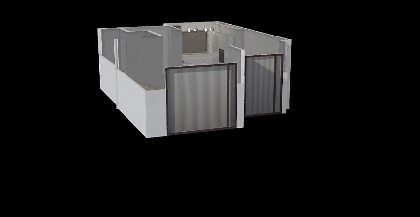 new 2 z wyspą Interior Design Render