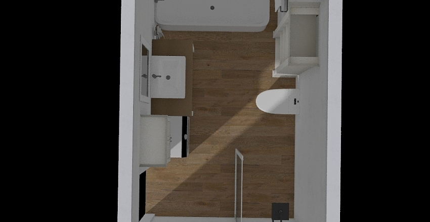 łazienka mama Interior Design Render