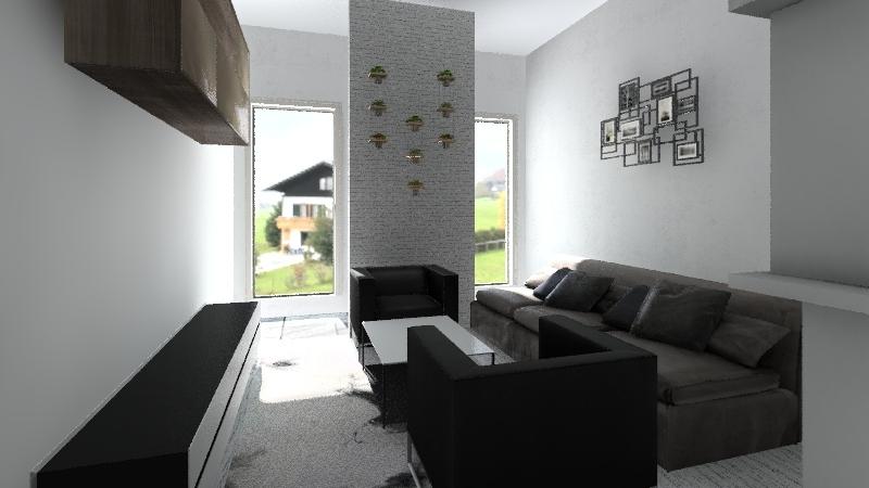 Garaż i piwnica na mieszkanie Interior Design Render