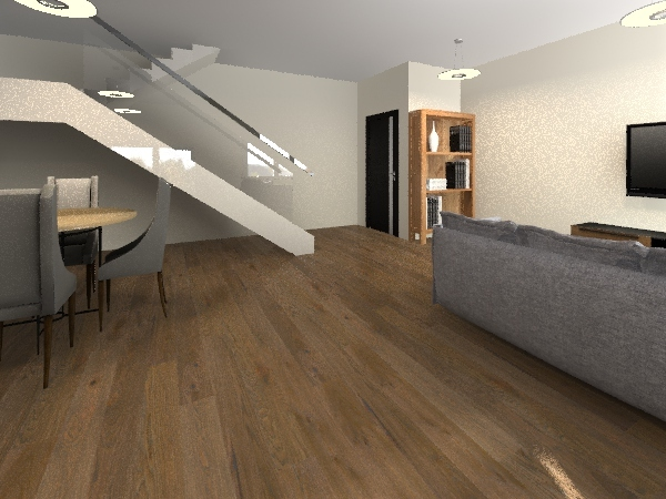 Casa Fundo Rodrigo Interior Design Render