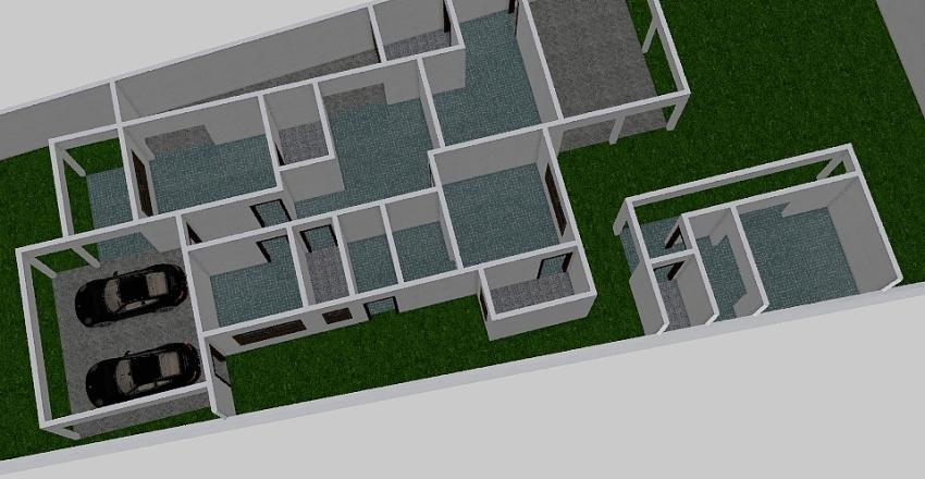 PROJETO 0602-02 Interior Design Render