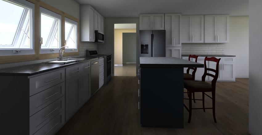 Leslie Myers Kitchen Remodel Interior Design Render