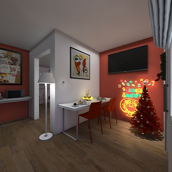 Bilocale  Interior Design Render