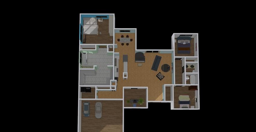 Final house Interior Design Render