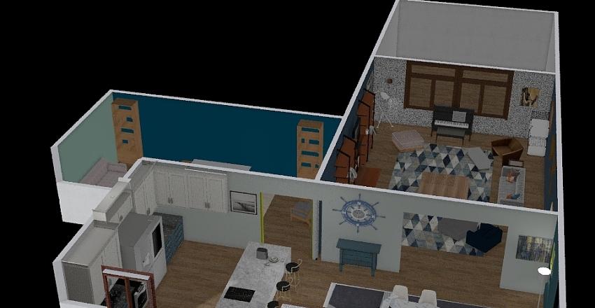 Modern Home design  Interior Design Render