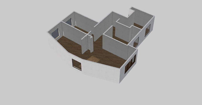 Vintergatan 2A Interior Design Render
