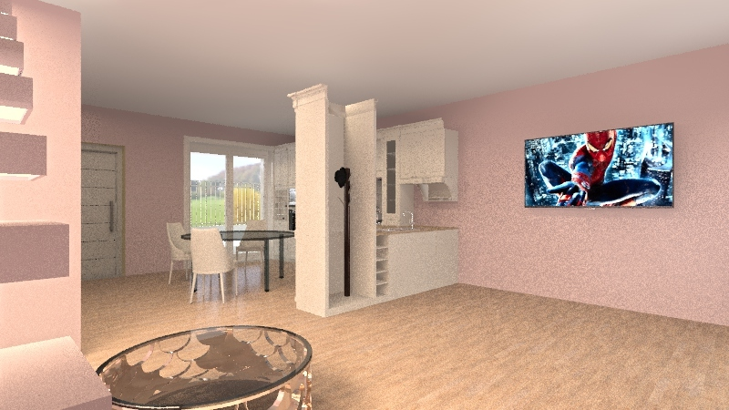 TRIFAMIGLIARE ok Interior Design Render