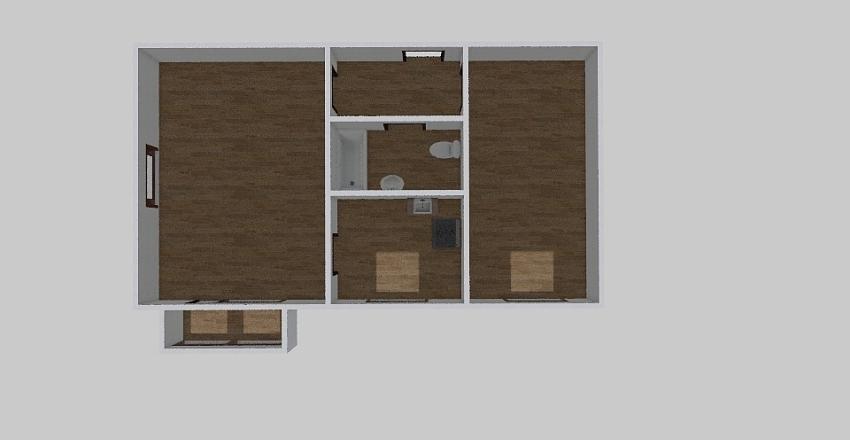2-комн_0350 Interior Design Render