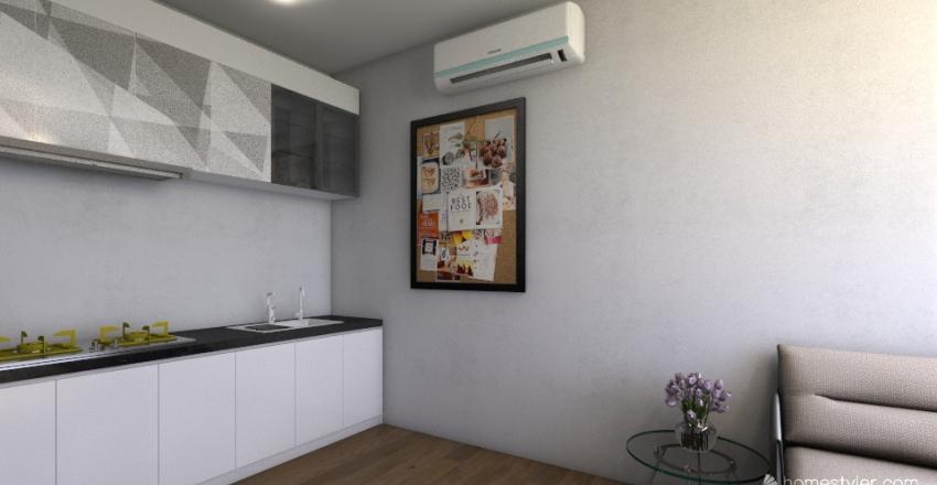 Appartement sec A Interior Design Render