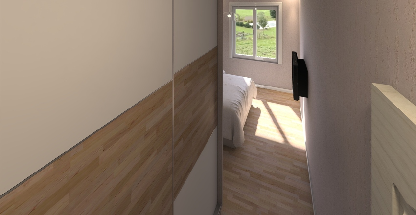 Guven Garden UF MBR2 Interior Design Render