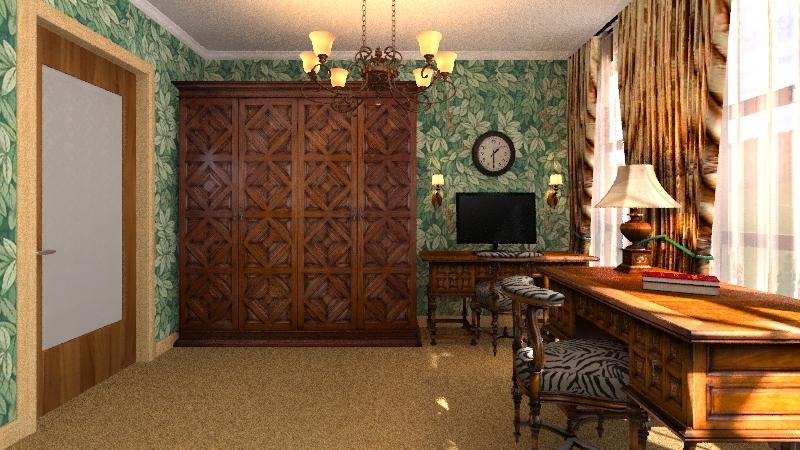 """Комната для мальчика """"Джунгли"""" Interior Design Render"""