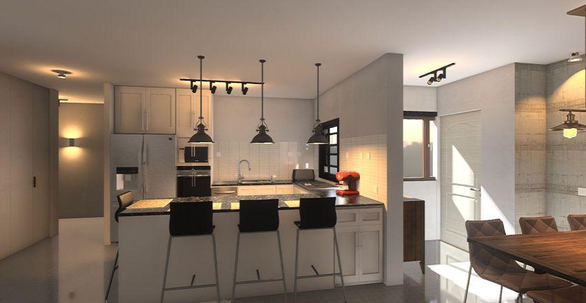 Eliezer Yafe - Final_ v3.4 Interior Design Render