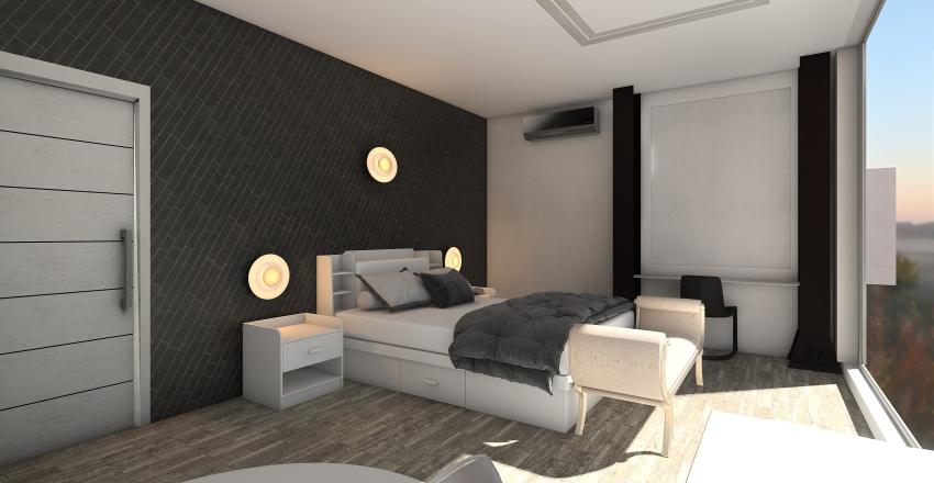 galeriija duplex Interior Design Render