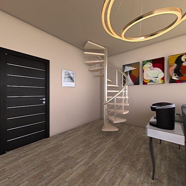 Suite di hotel Interior Design Render
