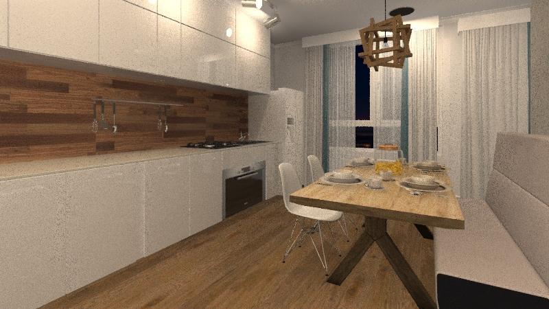 Small Apartement Interior Design Render