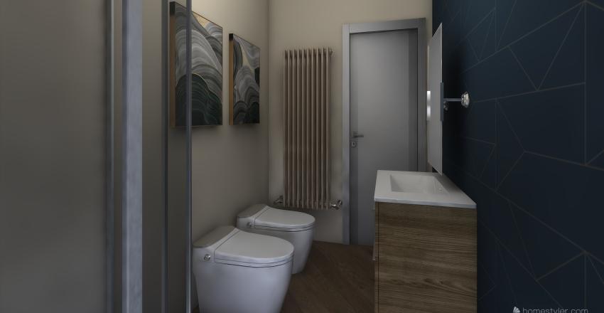NC001 P.ZZA S PAPINO Interior Design Render