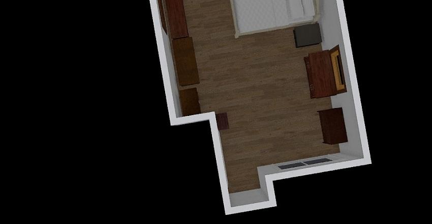 momdadbedroom Interior Design Render