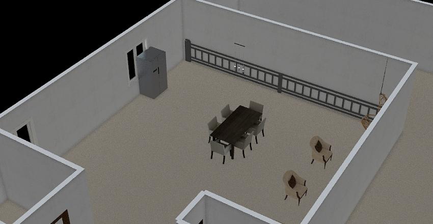PAVIMENTO TÉRREO - ALAMEDA CANELEIRAS- LOTE 02 QUADRA 42 Interior Design Render